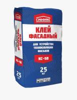 Клей Суффикс КС-60 1,2МПа гранит и сложные основания 25 кг