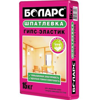 Шпатлевка гипсовая Боларс Гипс-Эластик 15 кг