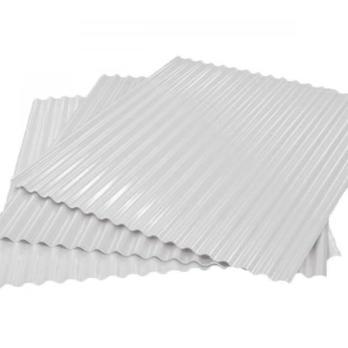Гофрированный лист (гофролист) С15 RAL 9003 сигнальный белый 0.45 мм