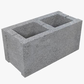 Блок Серый 100*190*400 (120)