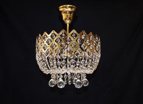 Корона 1л без зеркала шары белая