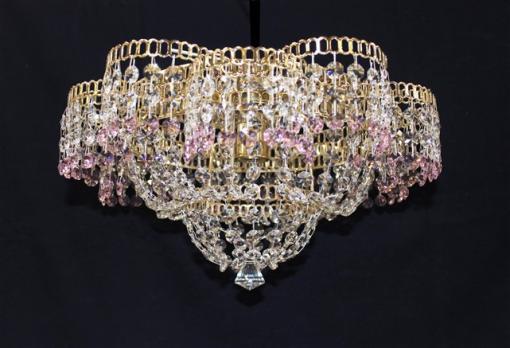 Лотос 1л с зеркалом цветной (розовый)